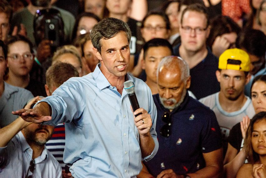 Beto O'Rourke discloses that he's descended from slave owners