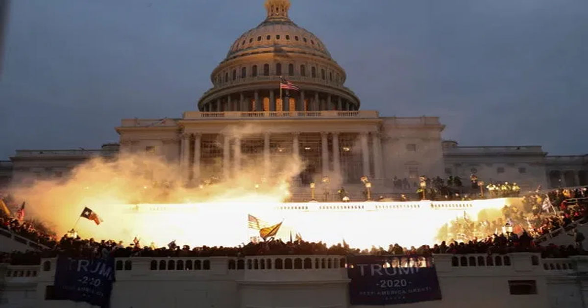 Trump Accused Of 'Coup' As Mob Storms US Capitol, 4 Dead In Violence