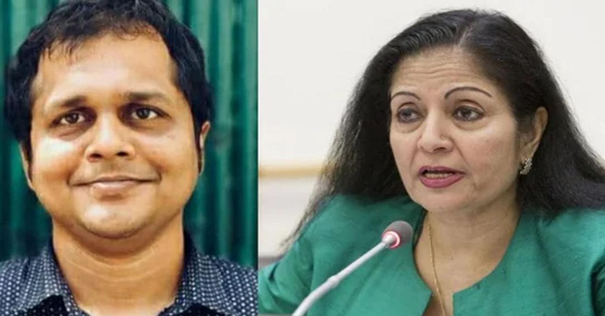 Delhi HC directs Saket Gokhale to delete tweets against Lakshmi Puri