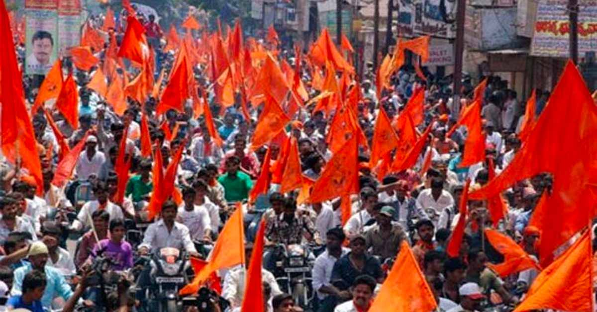 VHP puts up posters banning entry of non-Hindus in garba pandals in Ratlam