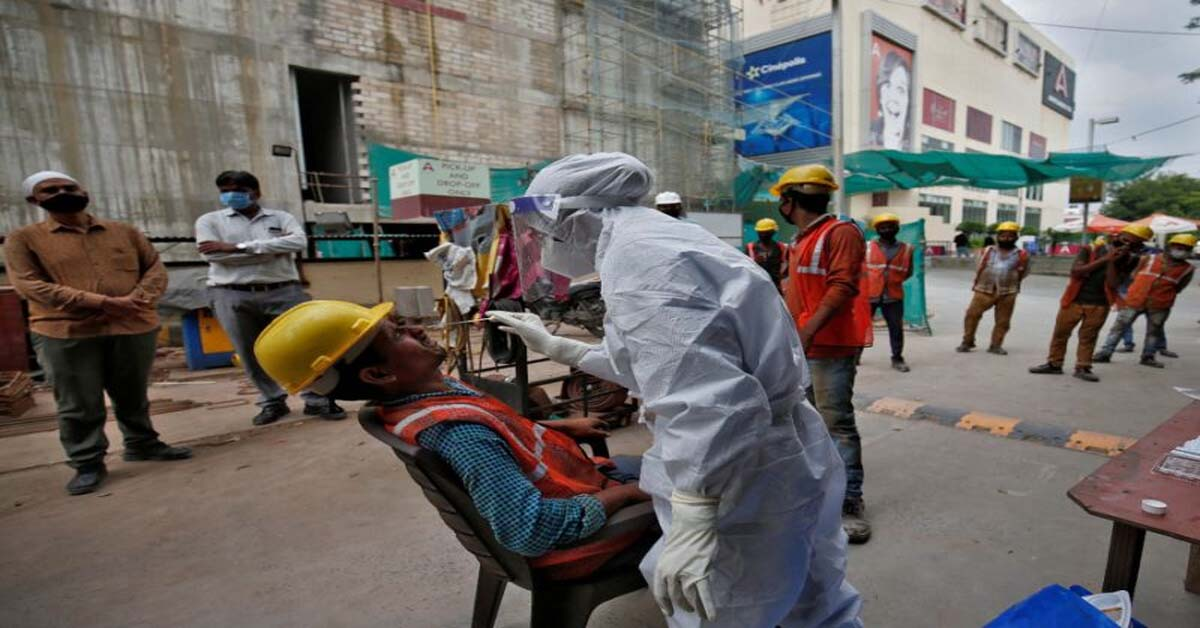 Record 95,735 infections, 1,172 fatalities take COVID caseload past 44 lakh