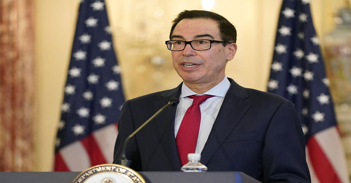 Mnuchin denies trying to limit Biden's economic options