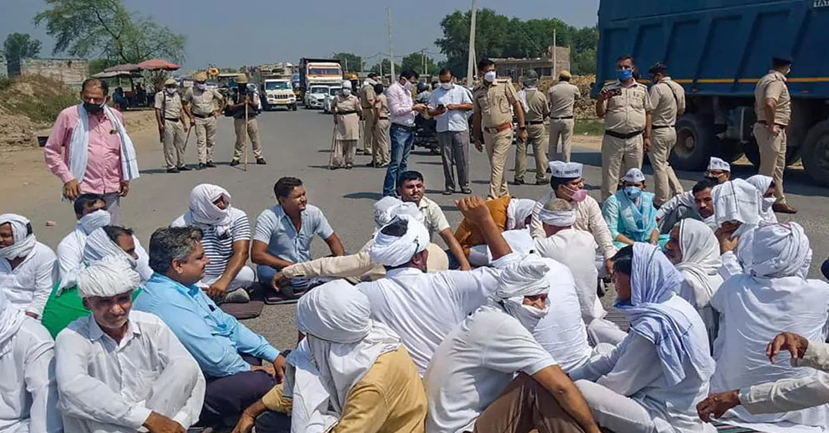 Farmers Say No To Meeting Called By Haryana On Lifting Highway Blockade