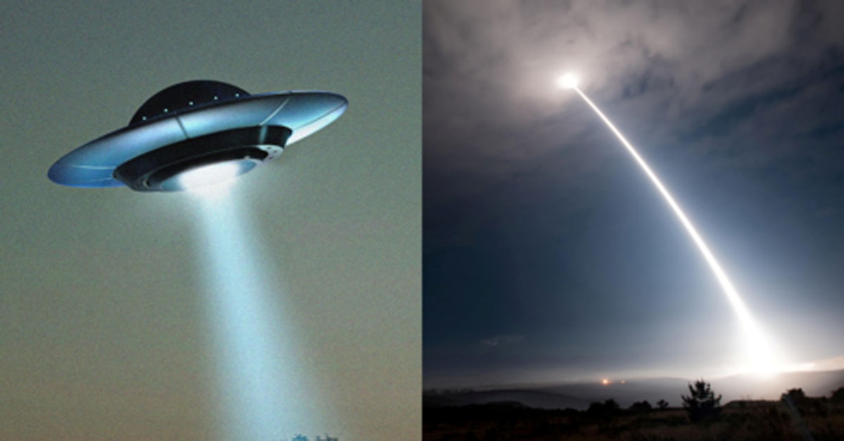 Aliens like our NUKES, former intel official admits, claiming that UFOs 'interfered' with US atomic capabilities