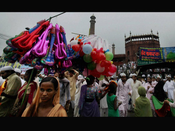 Eid-ul-Fitr celebrated in Delhi