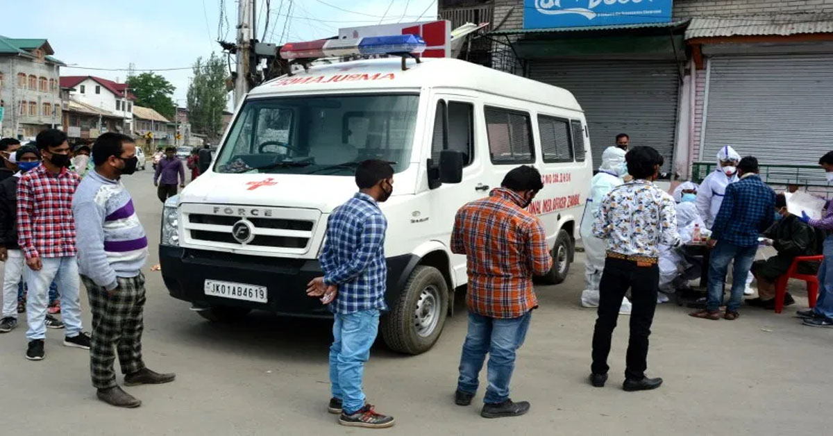 COVID-19 cases push India's tally above 6 lakh