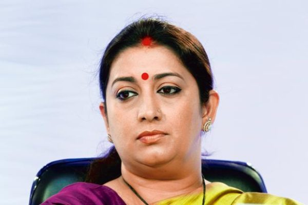 Election Commission directed by Delhi court to get records on Smriti Irani's degrees