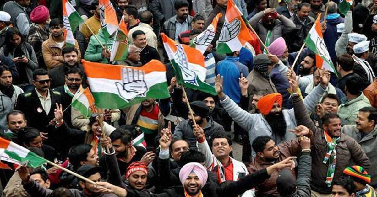 Congress Sweeps Punjab Urban Body Polls, BJP Routed Amid Farmers' Protest