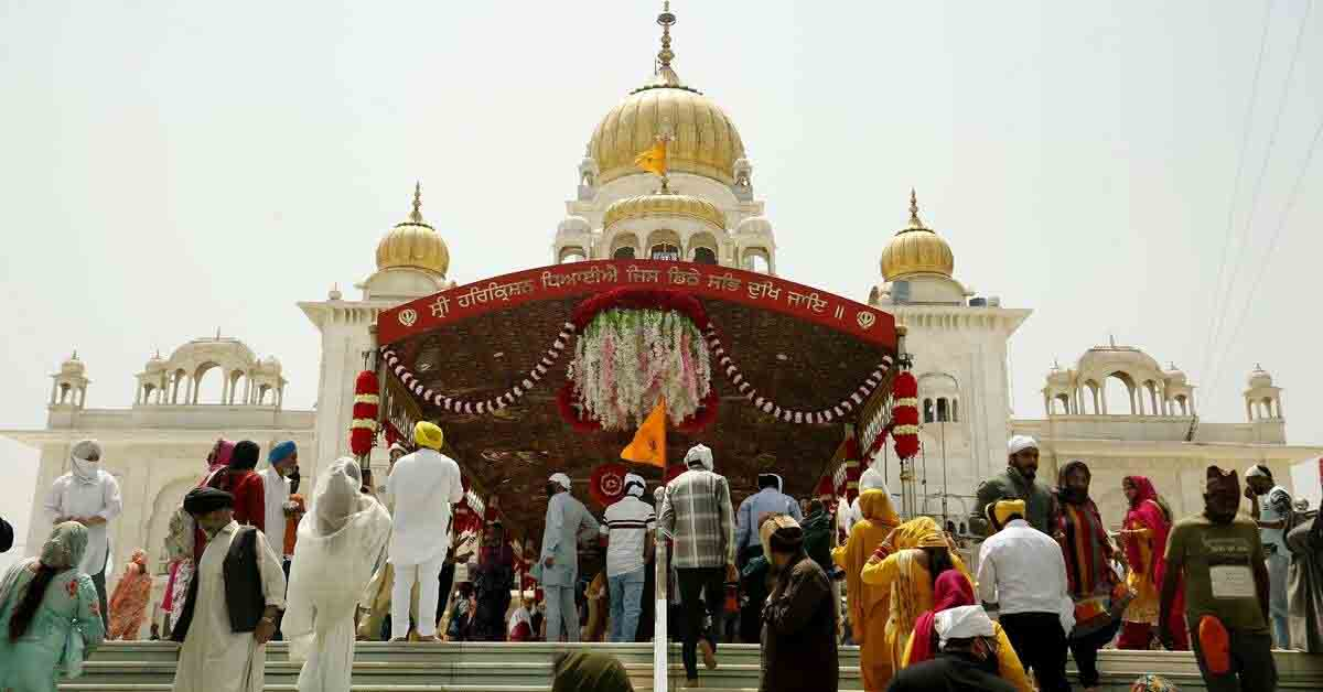 Bangla Sahib Gurdwara closed for visitors with immediate effect
