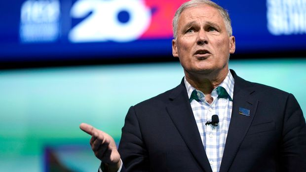 White House Contender Jay Inslee Rolls Out A Plan To Restore Unions, Boost Wages
