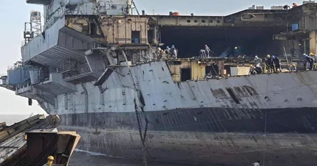 """""""INS Viraat Now Private Property"""": Supreme Court Hints At Lifting Stay On Its Dismantling"""