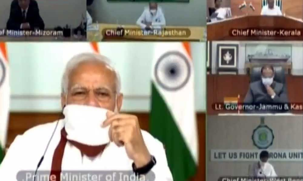 """PM Modi Says """"Here 24x7 For You"""""""