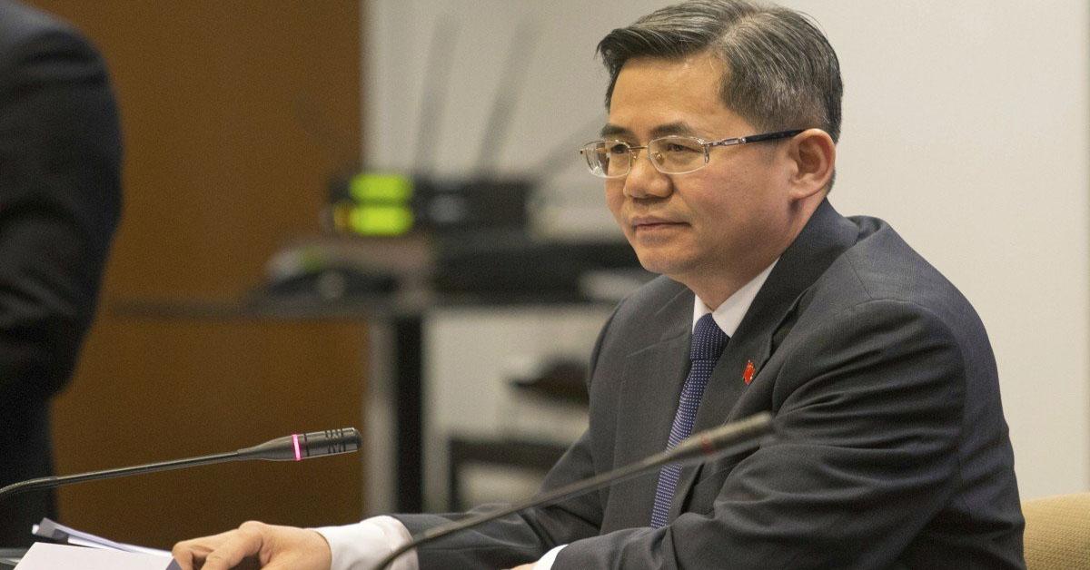 UK bars Chinese ambassador from parliament reception