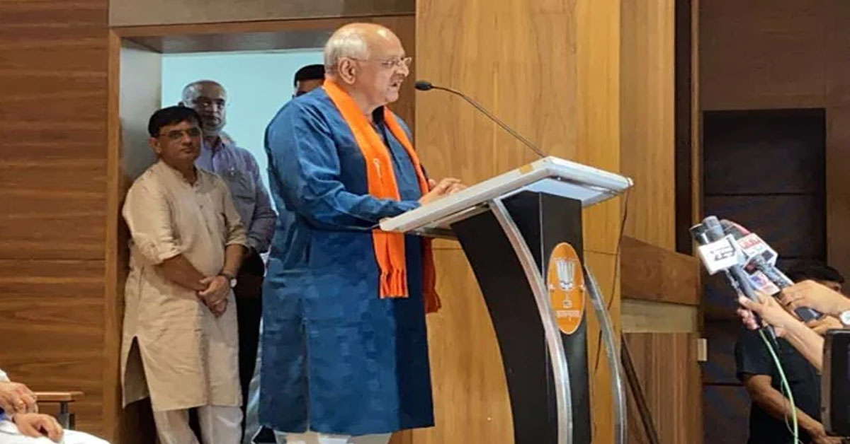 BJP Surprise Pick Bhupendra Patel's Oath As Gujarat Chief Minister Today