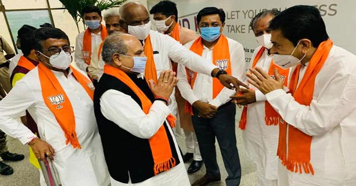 After Vijay Rupani Shock Exit, Key BJP Meet Today To Discuss Successor