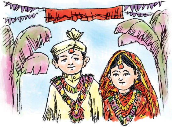 Delhi couple booked for underage marriage