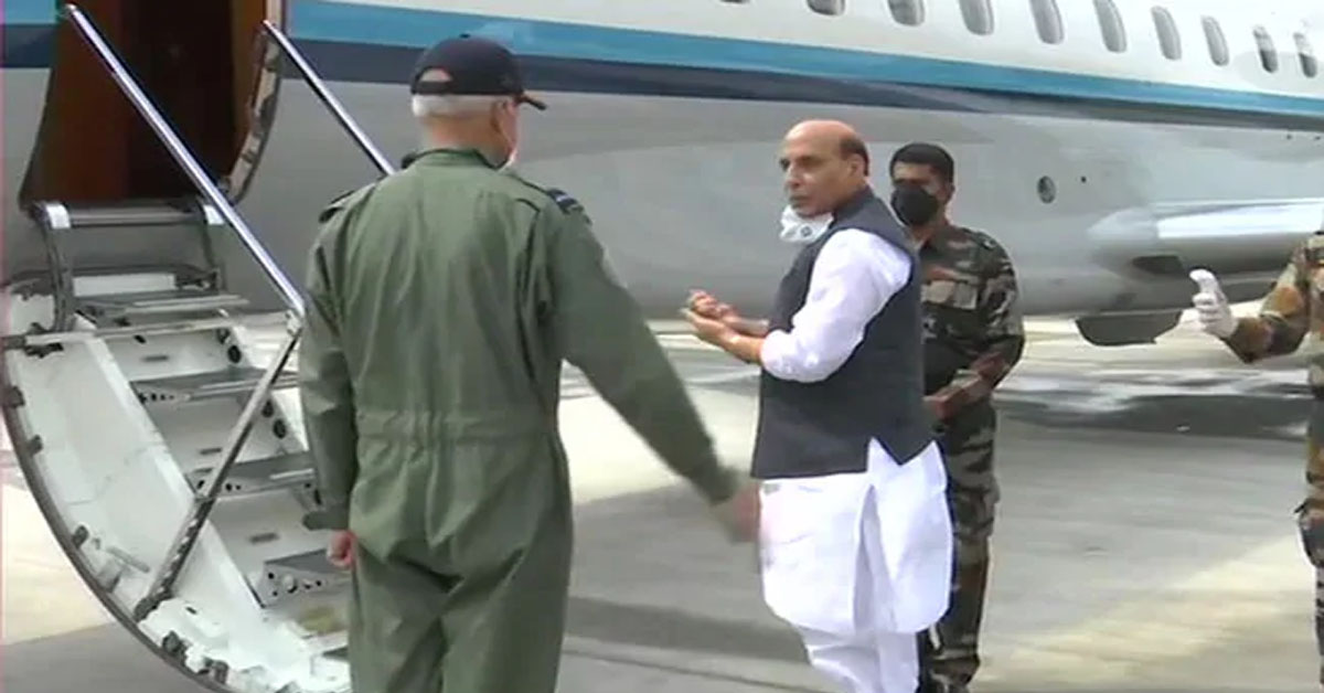 Defence Minister leaves for 3-day visit to Russia