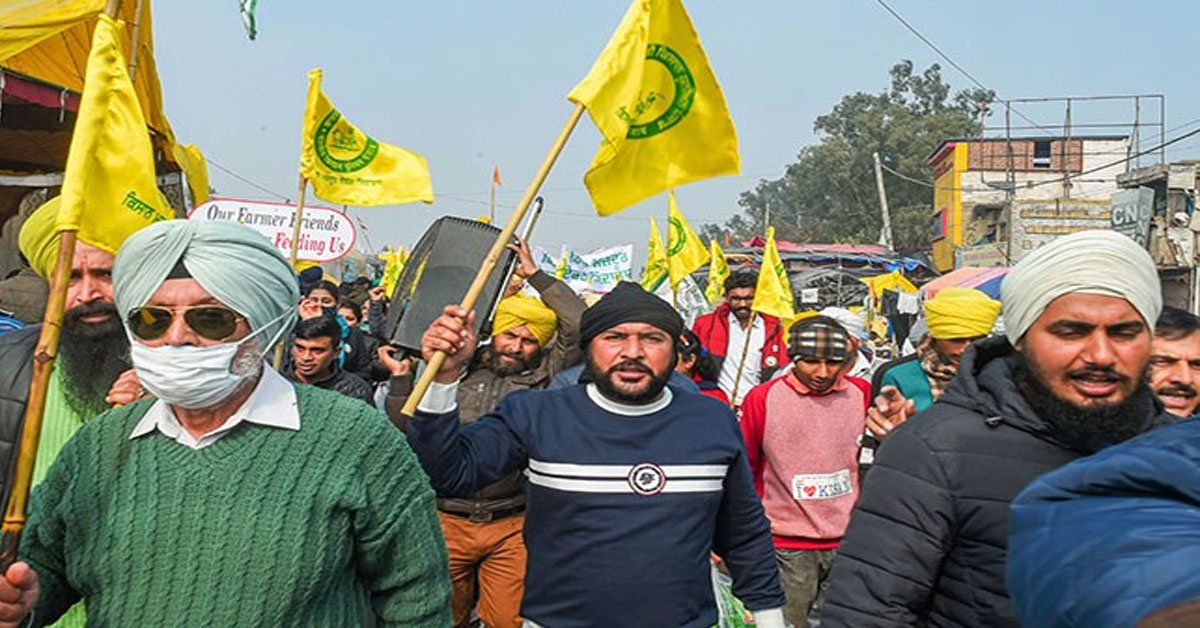 """""""Khalistanis Infiltrated Farmers' Protest,"""" Government Tells Supreme Court"""