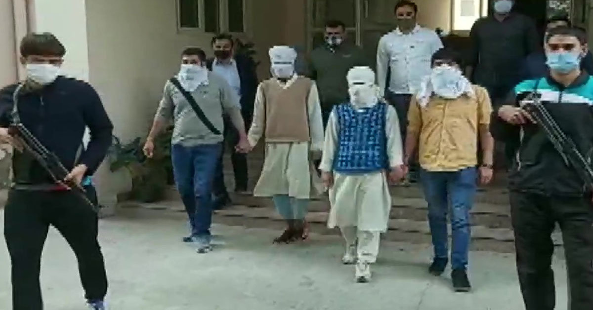 Two suspected JeM terrorists held in Delhi