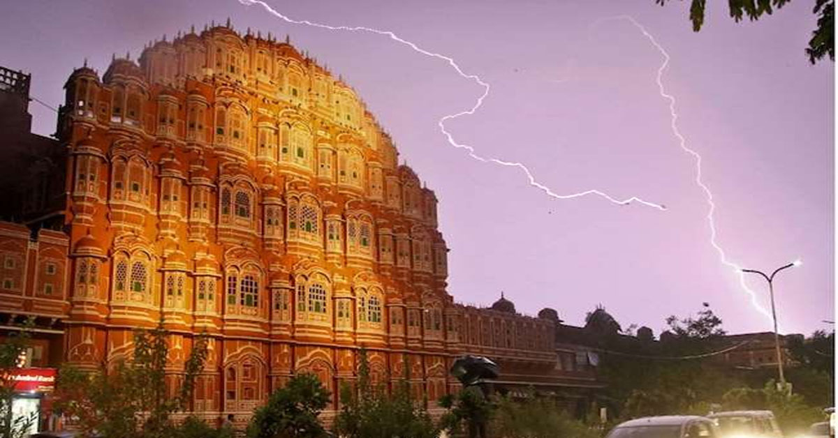 28 killed in lightning strikes in UP, Rajasthan