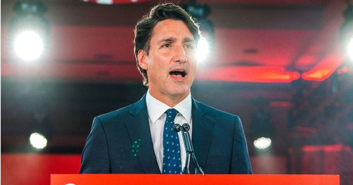 Trudeau stays in power but Liberals fall short of majority