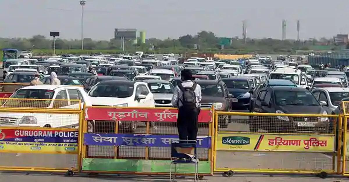 Delhi seals borders for a week