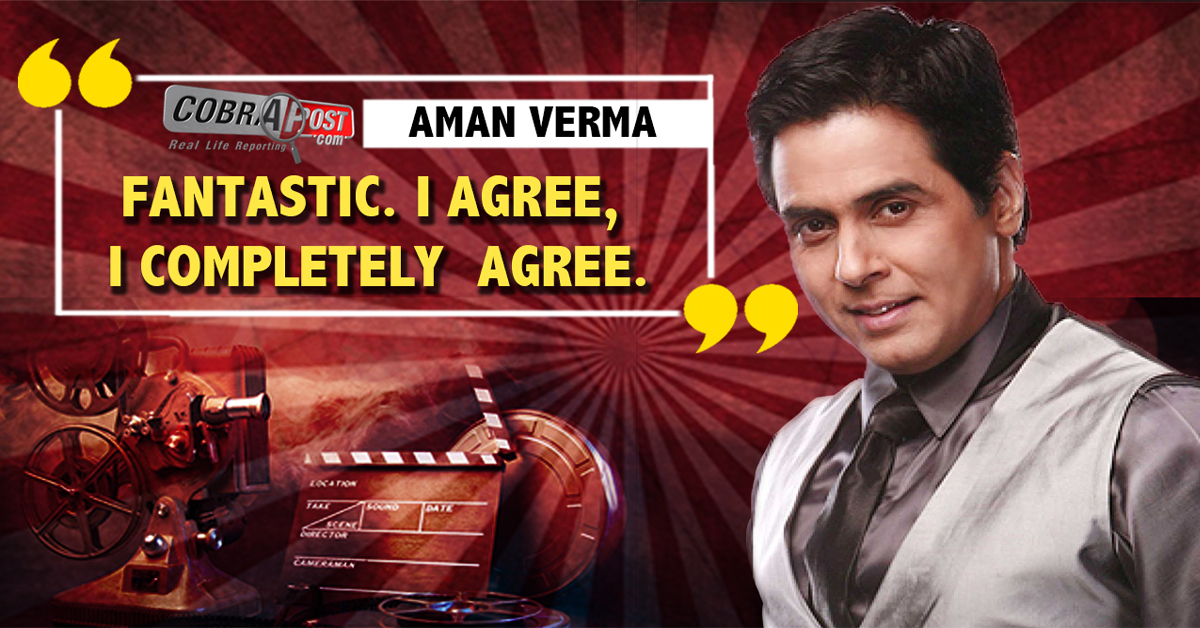 Aman Verma, TV Anchor and Actor