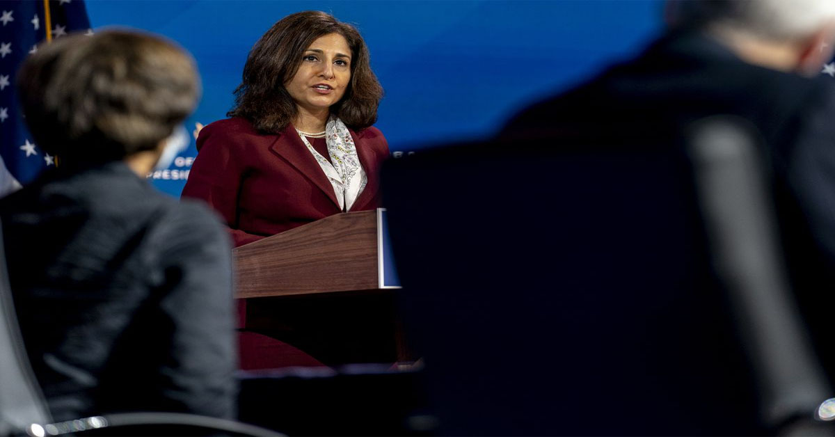 Neera Tanden, Biden's pick for budget chief, runs a think tank backed by corporate and foreign interests