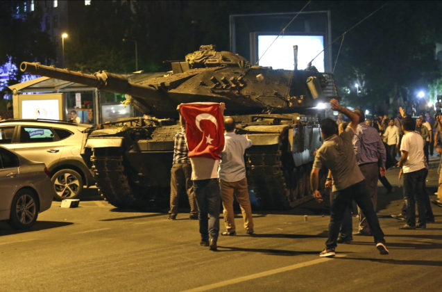 Military coup in Turkey, how it all went down…