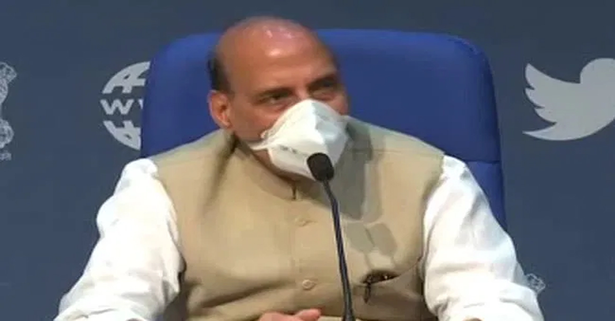 """""""PM Would Never Let Any Harm Come To Farmers"""": Rajnath Singh's Appeal"""