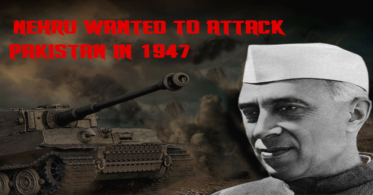 Cobrapost Exclusive: Nehru wanted to attack Pakistan in 1947 after it invaded Kashmir