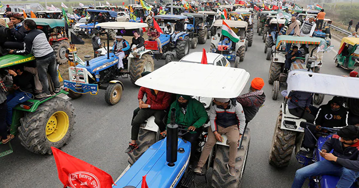 No Permission Yet On Farmers' Tractor Rally, Cops To Decide Today: Sources