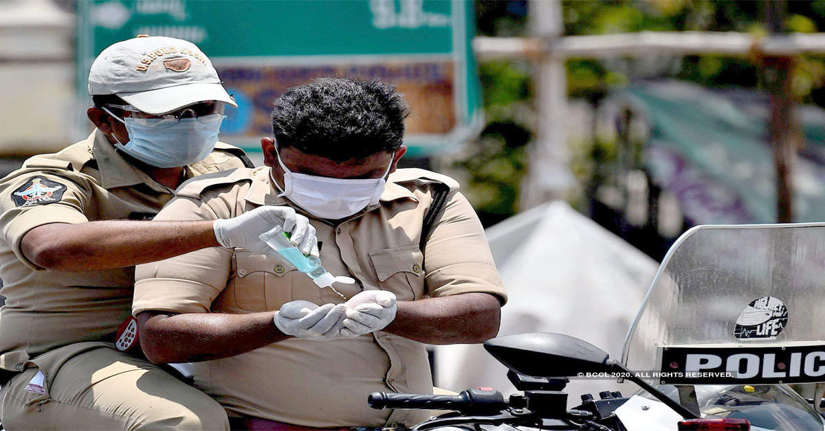 45 Kolkata Police personnel test positive for COVID-19