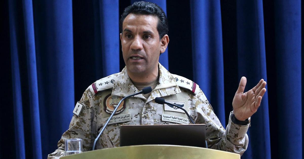 Arab Coalition forces intercept Houthi drones targeting Saudi Arabia