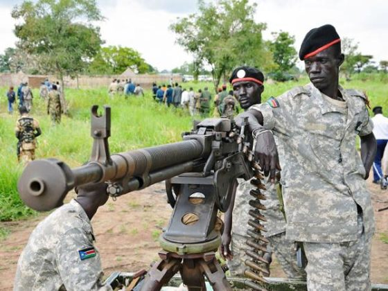 5 soldiers killed in shooting in South Sudan, military says