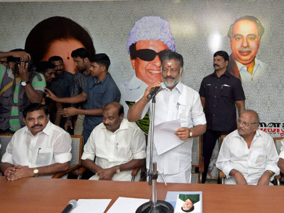 4 AIADMK MPs take oath in RS