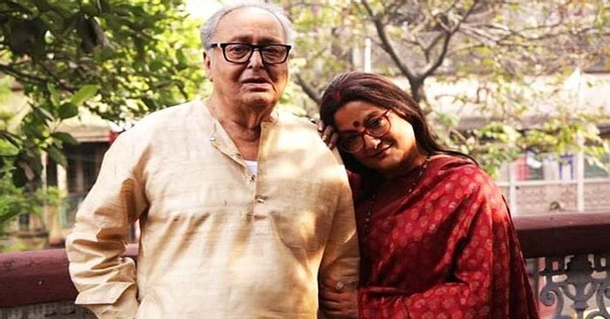 Aparna Sen recalls her memories of Soumitra Chatterjee