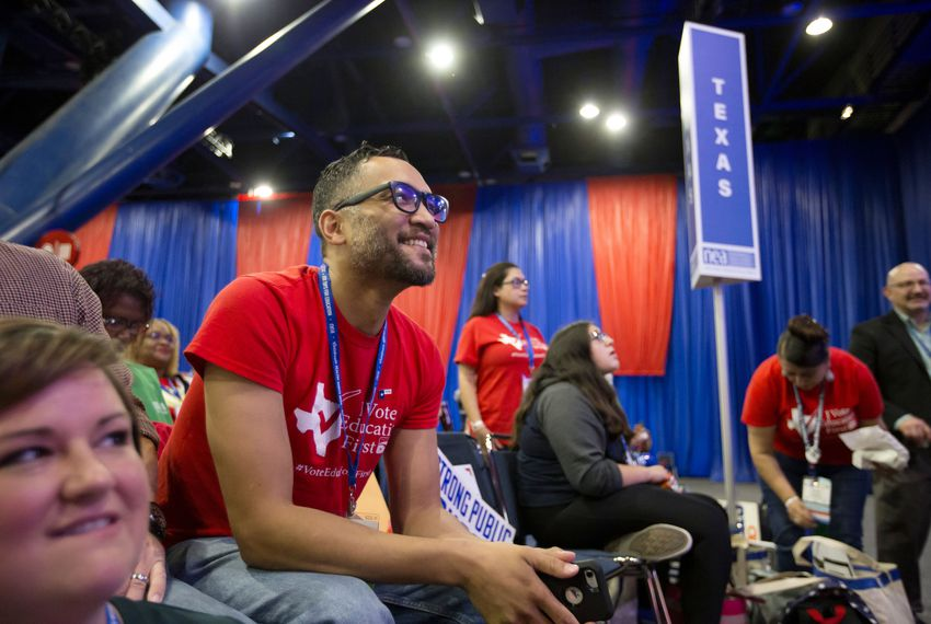 At Houston forum, 10 presidential candidates make their pitches to thousands of educators