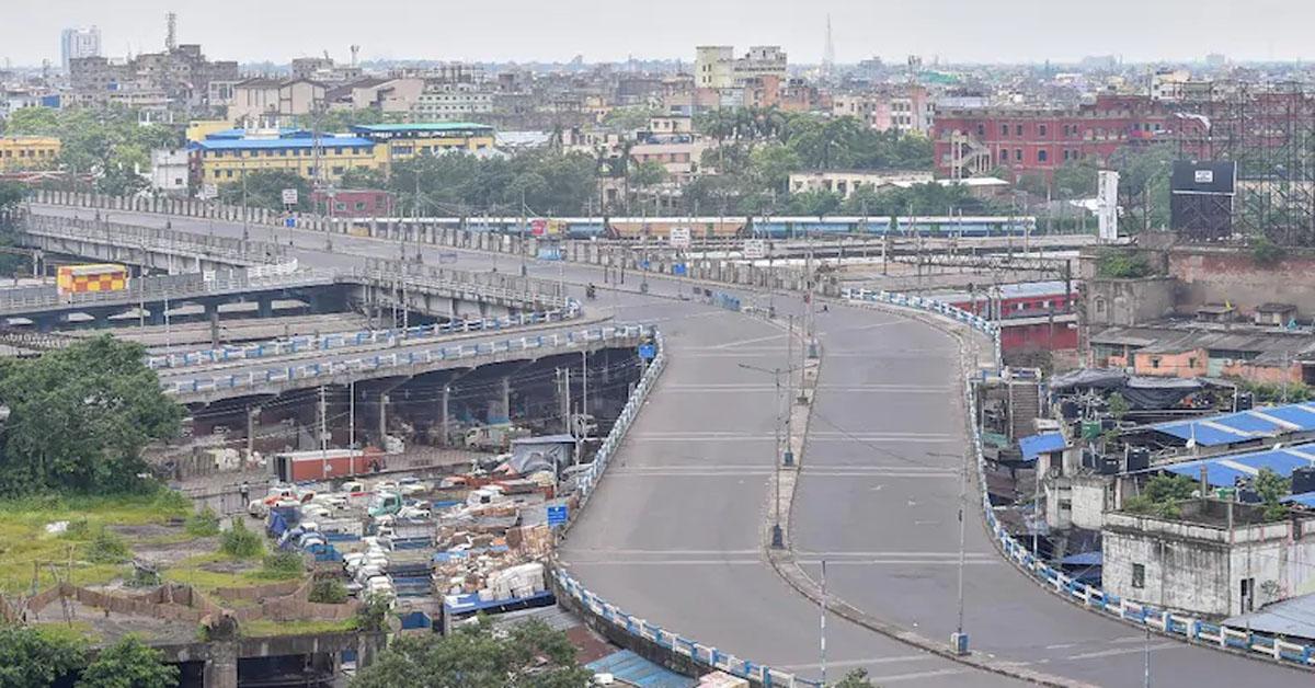 Bengal wears deserted look on 3rd day of biweekly total lockdown