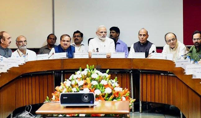 The issue is not about who gets credit: Modi on GST Bill
