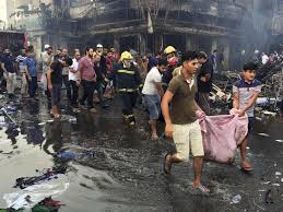 Bomb blast ruins Eid celebrations for Baghdad: 200 dead, 200 severely injured