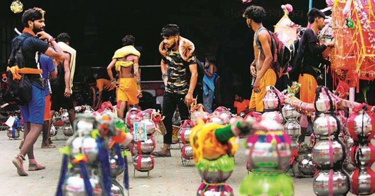 Kanwar Yatra in UP: Supreme Court issues notice to Yogi govt