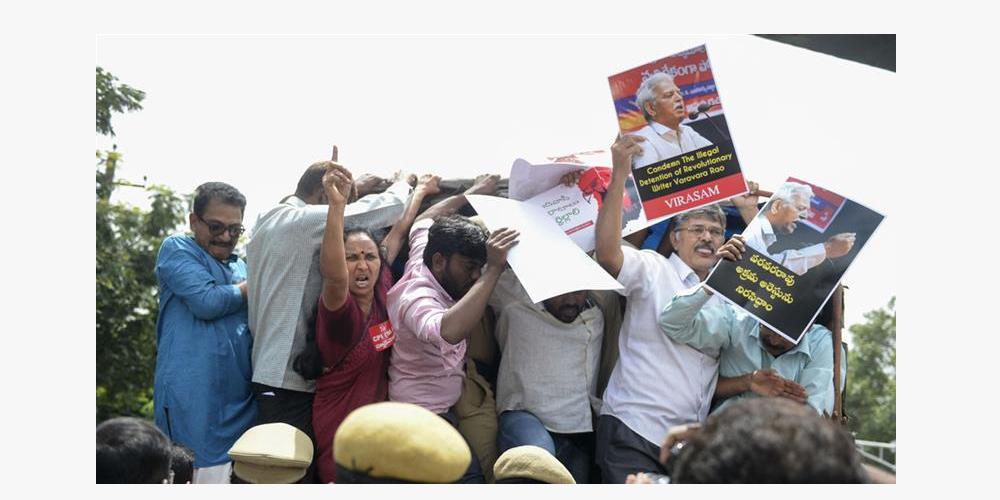 India's Supreme Court criticises police for arresting activists