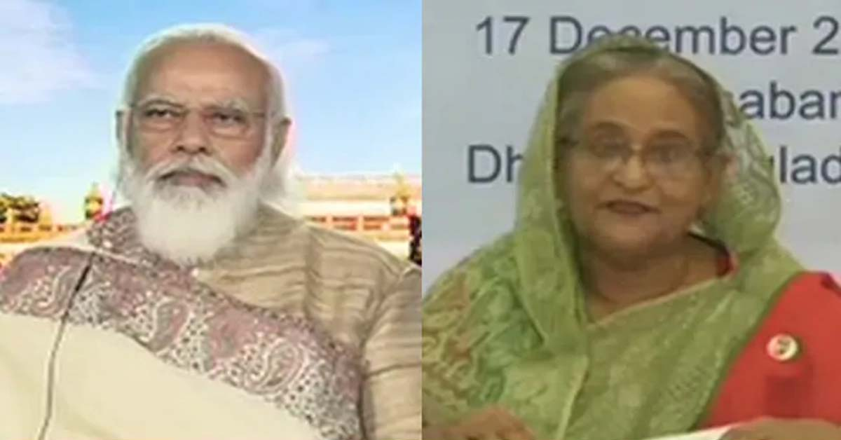 """""""India Our True Friend"""": Sheikh Hasina On 1971 War At Summit With PM Modi"""