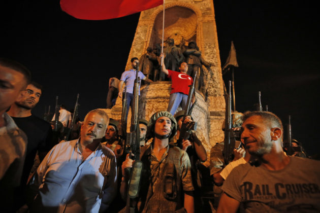 Gunfire heard from Interior Ministry in Ankara