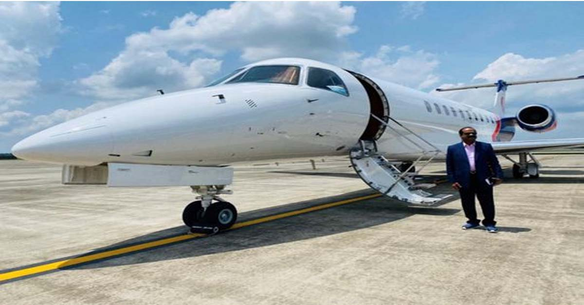 Indian expat spends $55,000 to fly with family on private jet from Kerala to UAE
