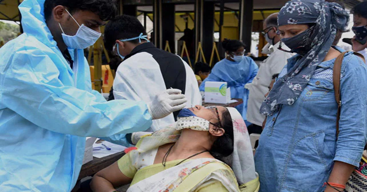 96,982 Fresh Covid Cases In India Day After 1-Lakh Mark Was Breached