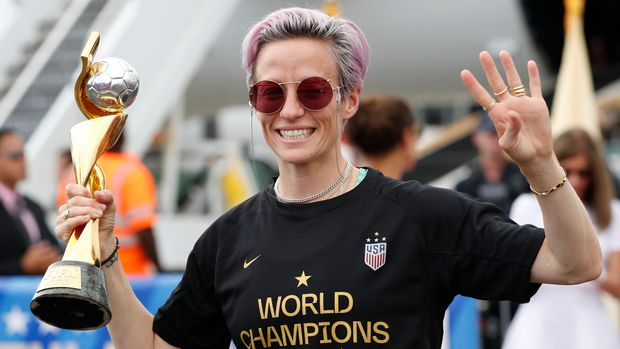 NYPD Investigates Vandalized Megan Rapinoe Posters As Possible Hate Crime