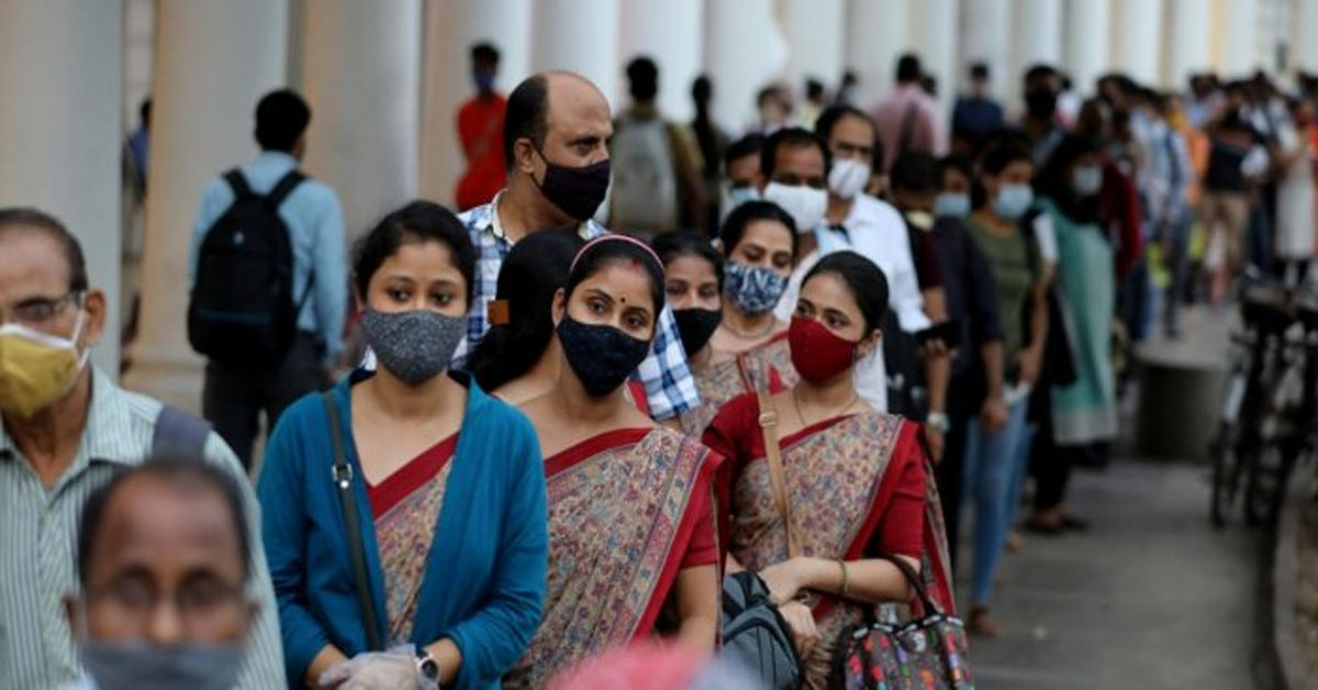 83,809 new COVID cases, 1,054 deaths in India