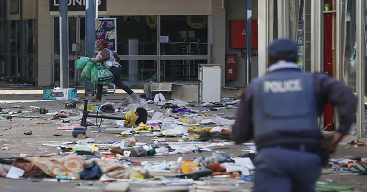 Death Count In South Africa Unrest Over Jacob Zuma Jail Term Rises To 32